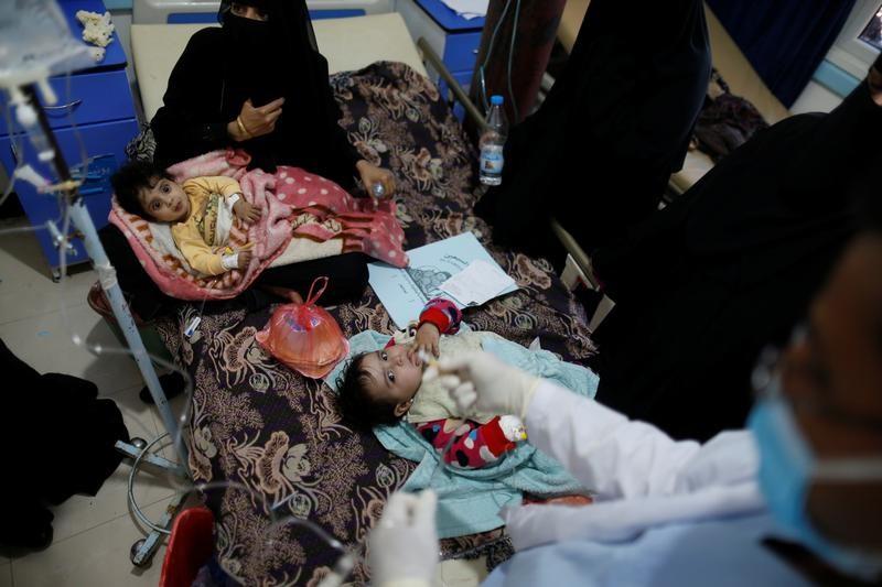 الكوليرا في اليمن قد تزداد انتشارا مع المطر وأوكسفام تتوقع 600 ألف حالة