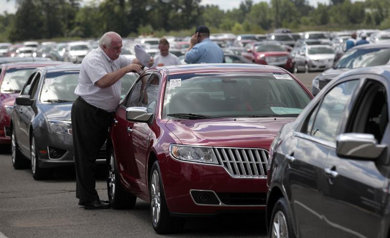 انخفاض مبيعات شركات السيارات في الولايات المتحدة في يوليو