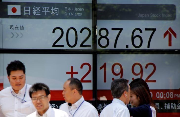 نيكي ينخفض 0.07% في بداية التعامل بطوكيو