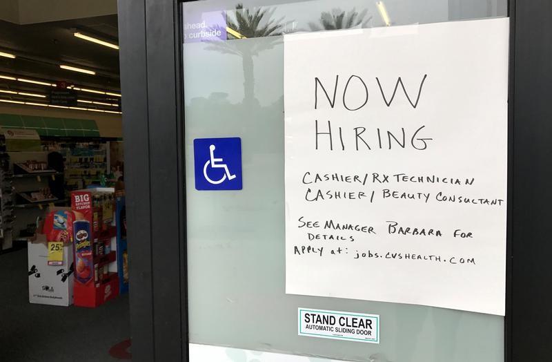تراجع طلبات إعانة البطالة الأمريكية الأسبوع الماضي