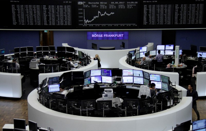 الأسهم الأوروبية تتراجع تحت ضغط خسائر بادي باور وبوست إن.إل
