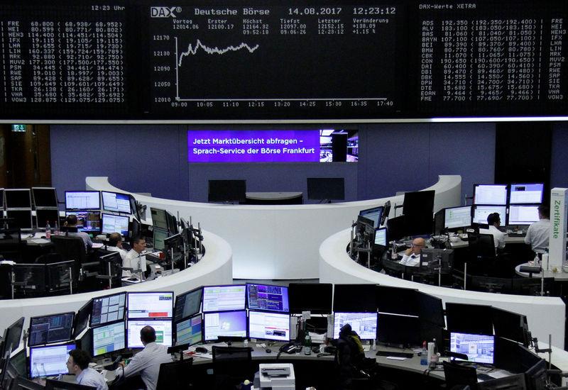 البنوك ترفع الأسهم الأوروبية مع انحسار التوترات الكورية