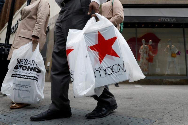 مبيعات التجزئة الأمريكية تسجل أكبر زيادة في 7 أشهر