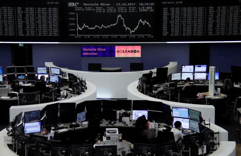 الأسهم الأوروبية ترتفع لأعلى مستوى في 4 أشهر