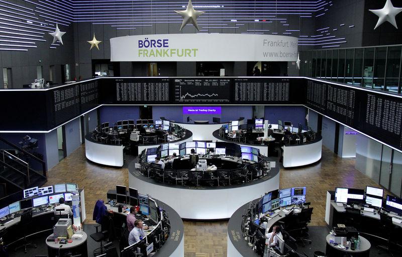 الأسهم الأوروبية ترتفع مدعومة بالقطاع المالي وشركات التكنولوجيا