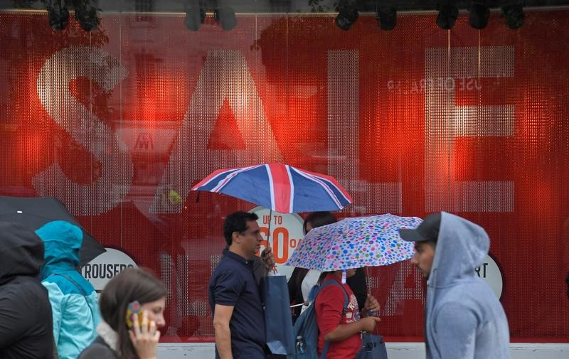 الطقس المشمس يرفع مبيعات التجزئة البريطانية في يونيو