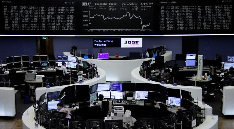 قوة اليورو تهبط بالأسهم الأوروبية والأنظار على نتائج الشركات