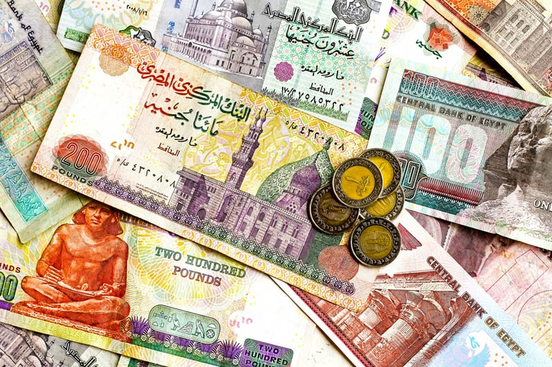 الدولار  ينخفض قرشين فى البنك الاهلى..تعرف على أسعار العملات اليوم
