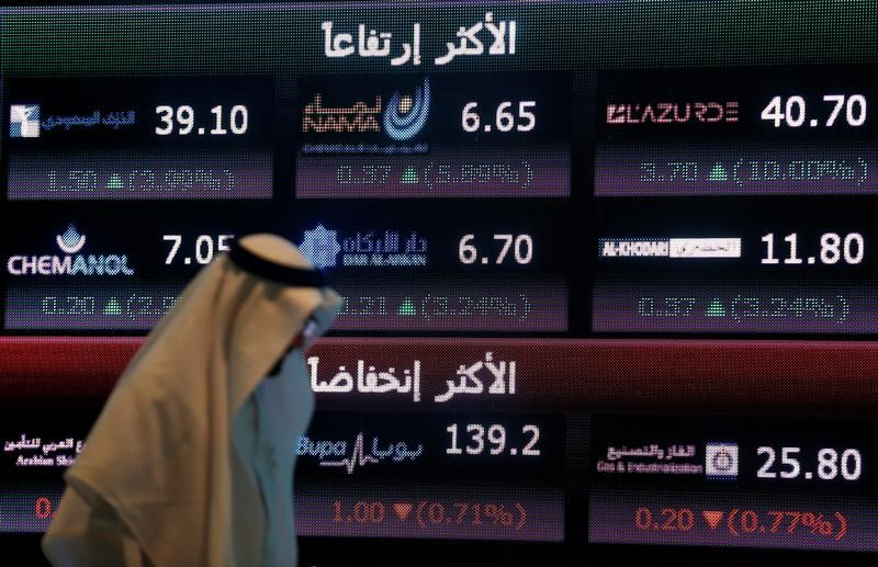 البورصة السعودية ترتفع بعد هبوط لست جلسات متتالية وقطر تتراجع