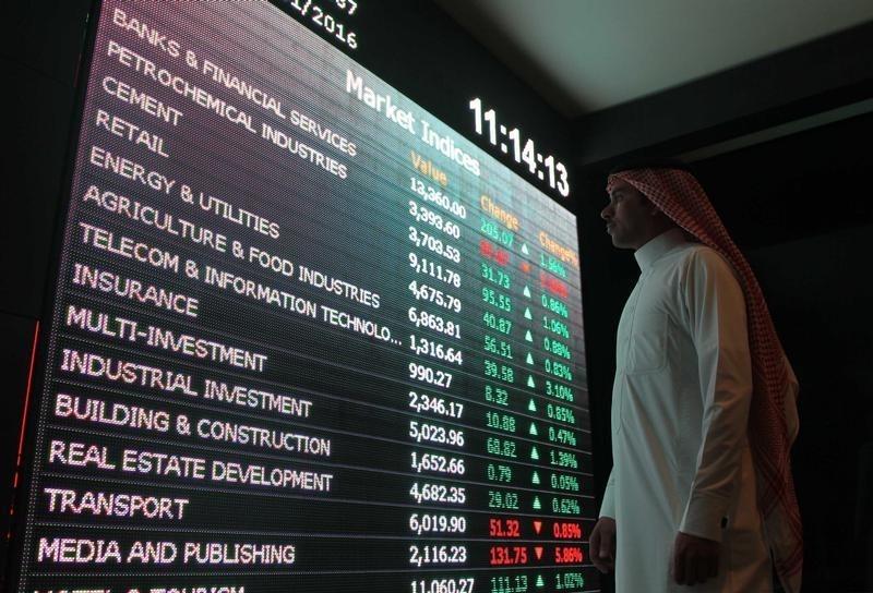السوق السعودي يغلق تعاملات يوليو منخفضا 4.5%